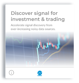 Discover signal for investment and trading