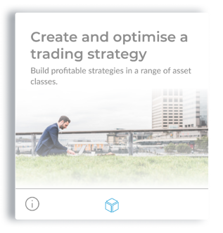 Create and optimize a trading strategy