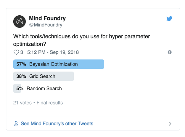 Which tools do you use for hyper-parameter optimisation?