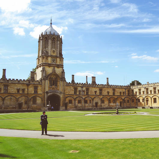 Oxford University Quad