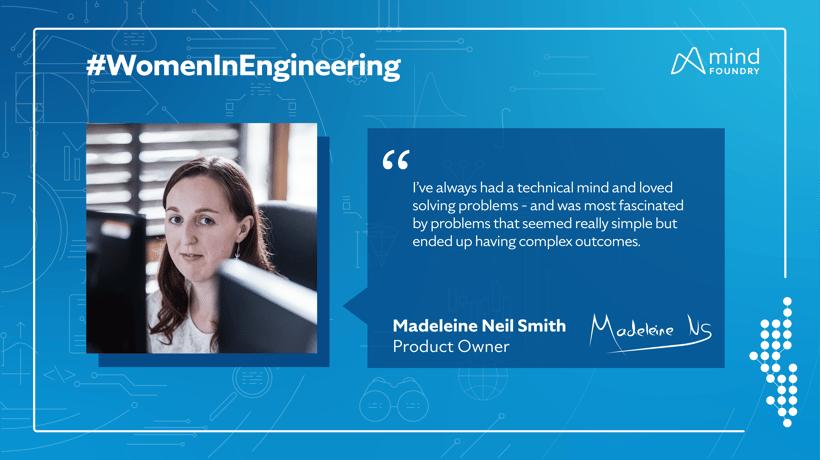 Women in STEM - Madeleine