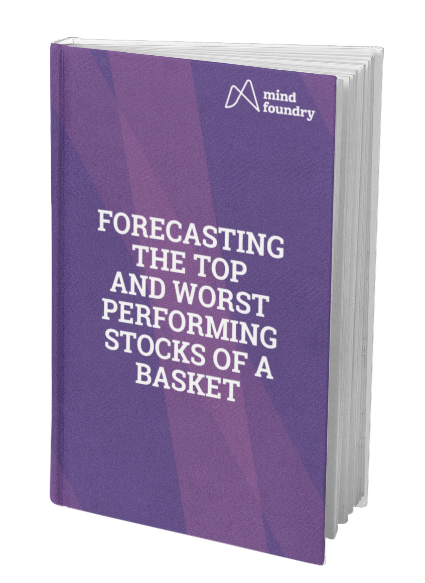 Forecasting the top and worst performing stocks of a basket book