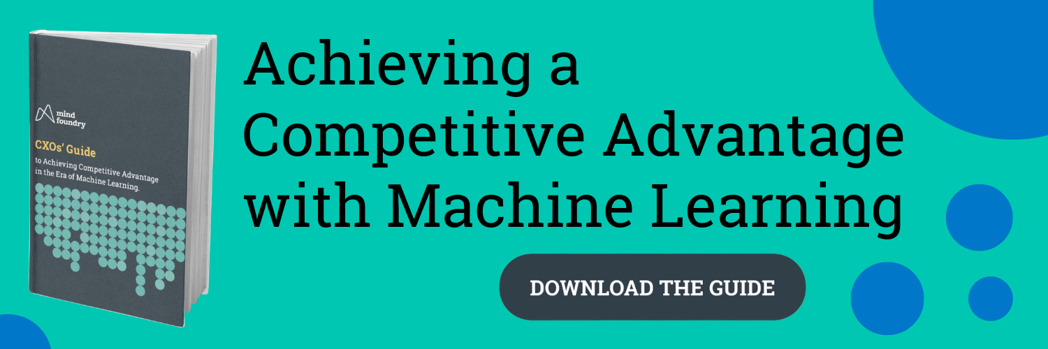 Achieve a competitive edge with machine learning: A downloadable guide