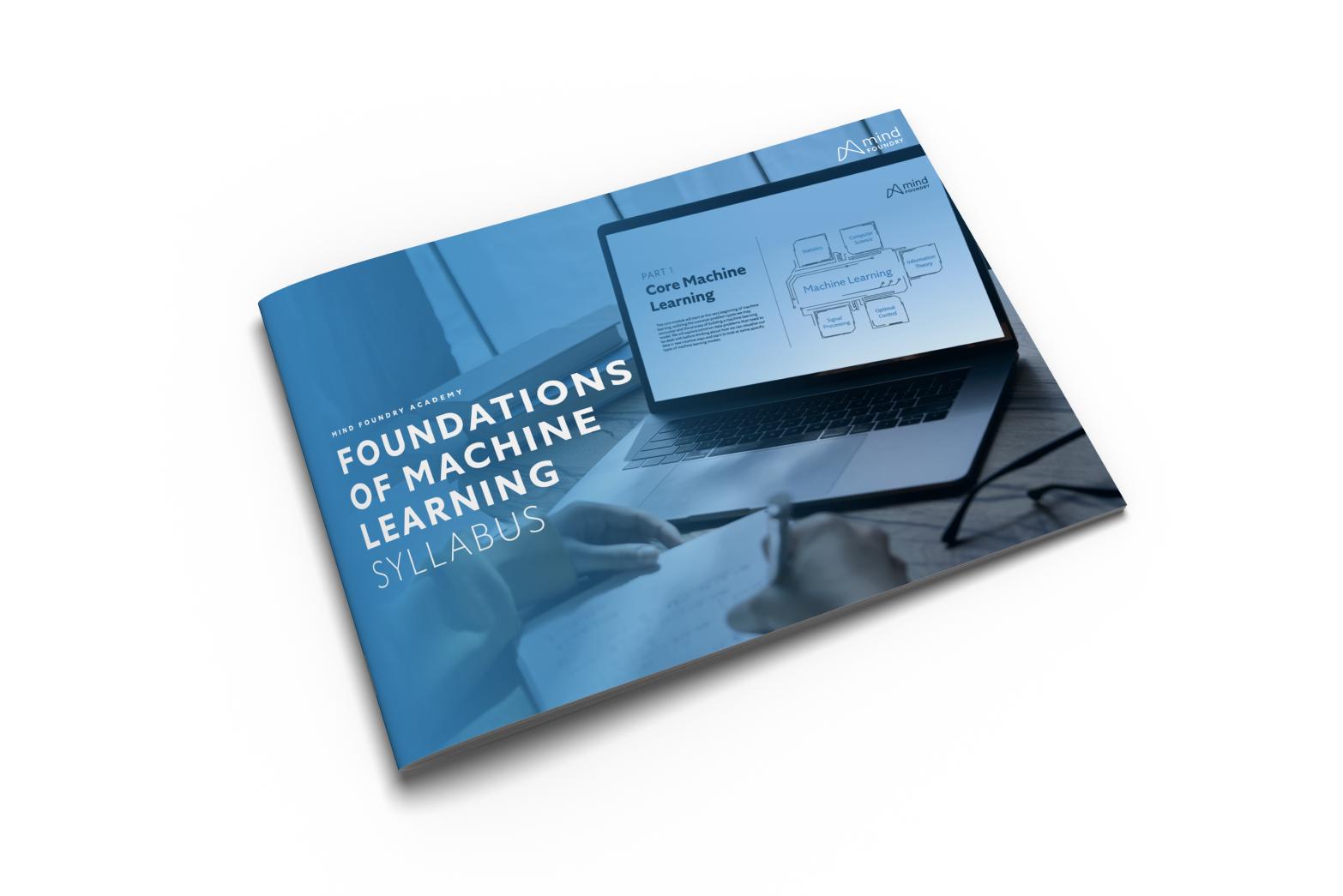 Foundations of Machine Learning Syllabus